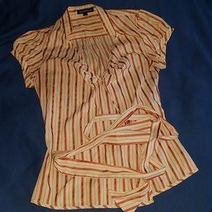 Express wrap shirt